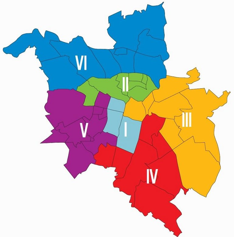 Nowe okręgi wyborcze - Poznań